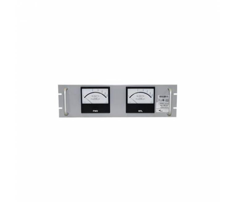 """15/30/60 kW, Dual 4-1/2"""" Panel-Mount RF Wattmeter"""