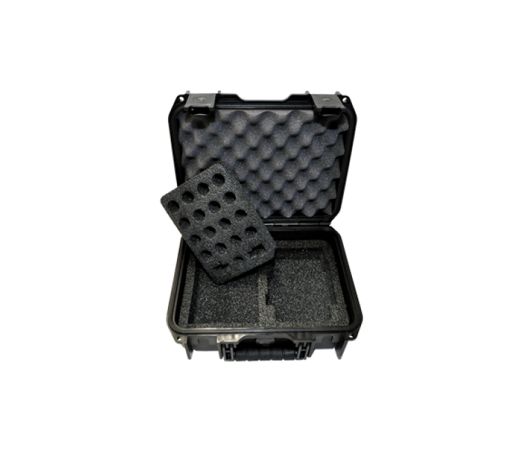4410A RF Wattmeter Carrying Case, RF Load, 4 Elements and Accessories