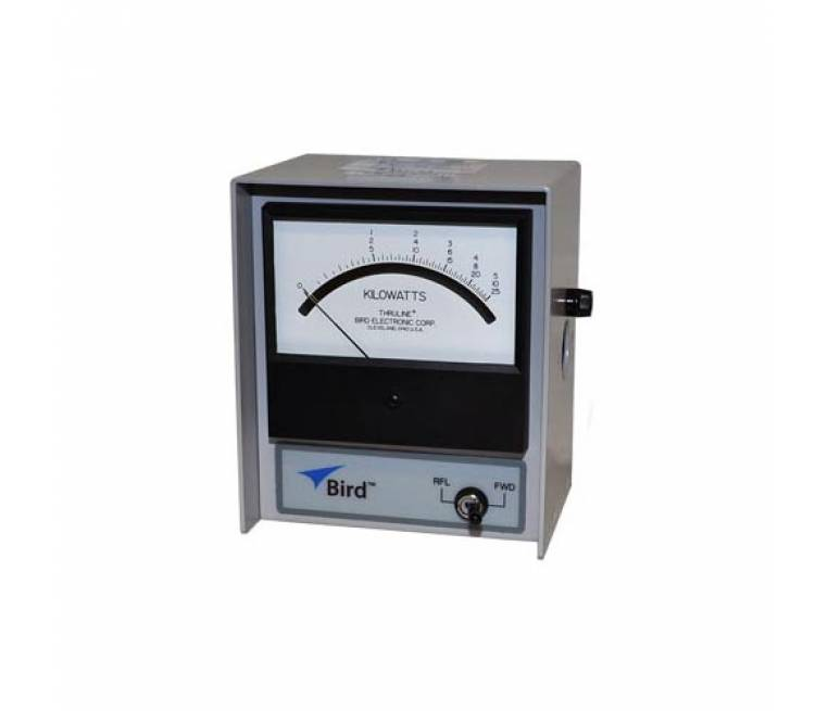 """15/30/60 kW, 4-1/2"""" RF Wattmeter with FWD and RFL Switch"""