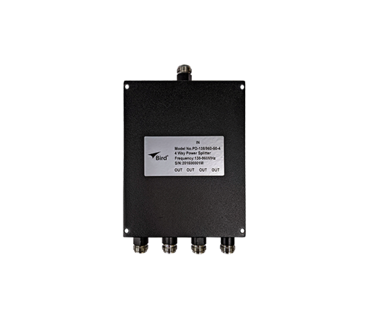 138-960 MHz Power Dividers, 50W