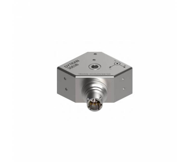 Industrial Triaxial Accelerometer Model 3063B