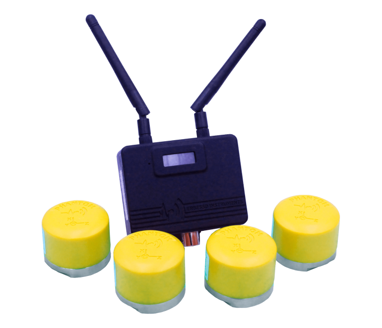 Wireless Triaxial Accelerometer for Continous Monitoring Sensor – Phantom Class II ATEX 4 Kit