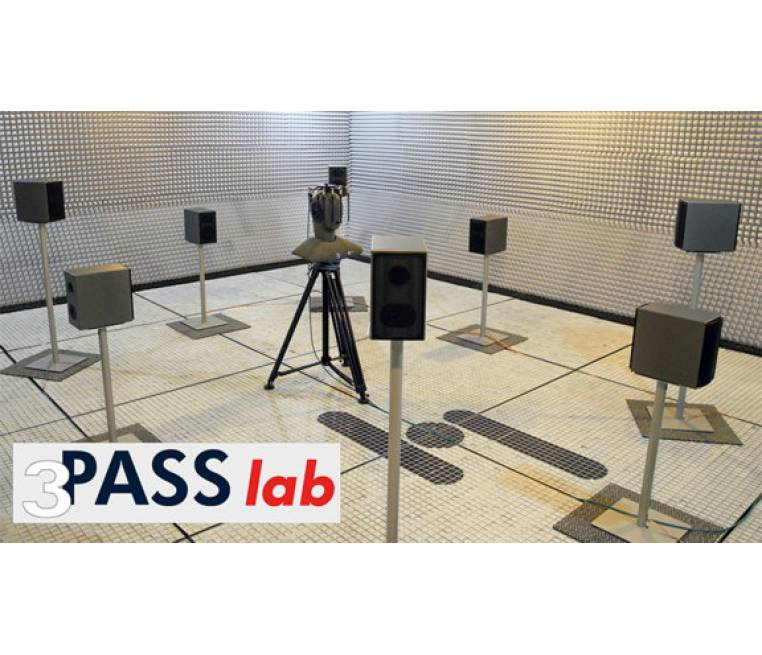 3PASS lab - 3-dimensional Playback of Acoustic Sound Scenarios