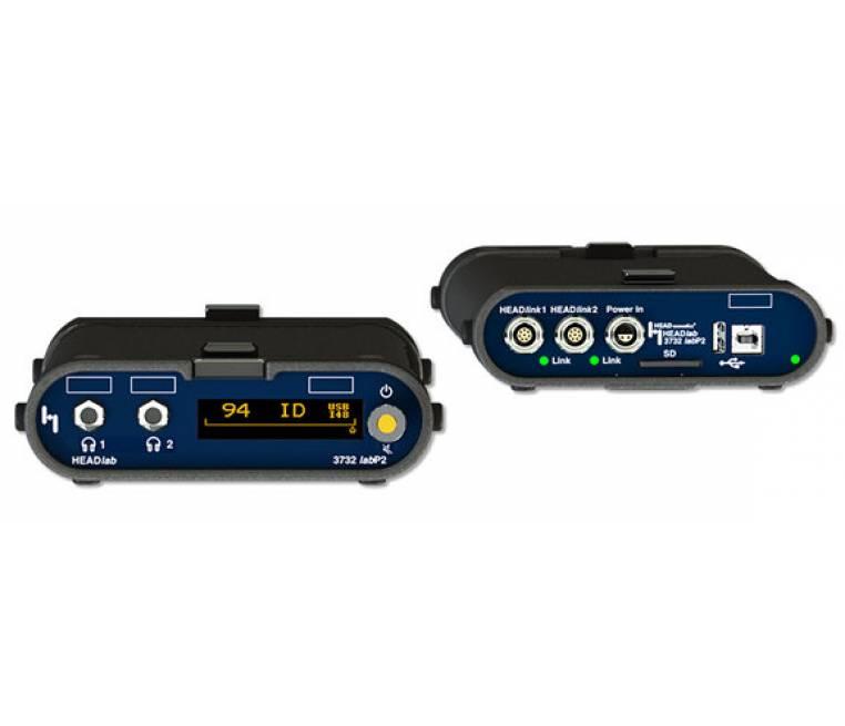 labP2 / labP2-V1 -Headphone equalizer for 2-channel-playback via headphones