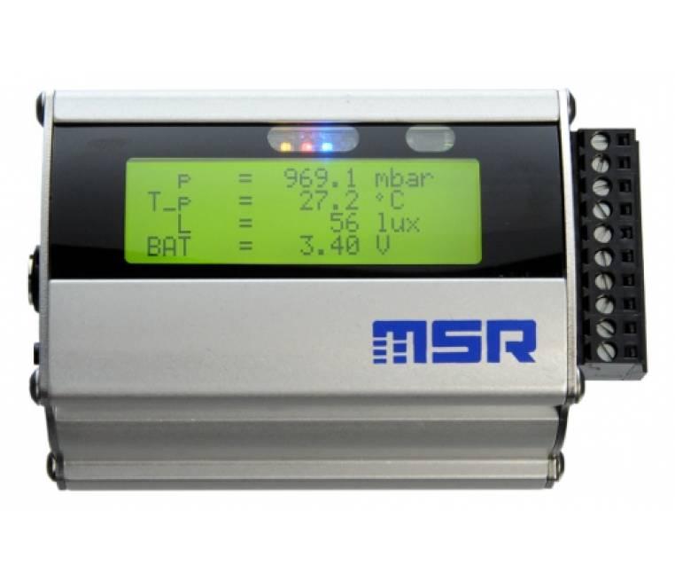 MSR165 Data Logger for Vibration, Shock, Jolts