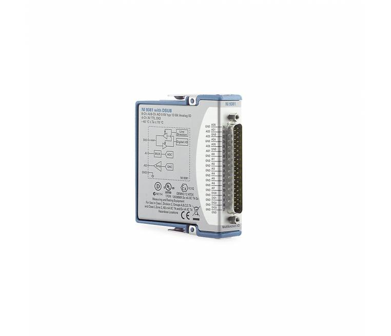 C Series Multifunction I/O Module